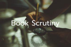 Book Scrutiny